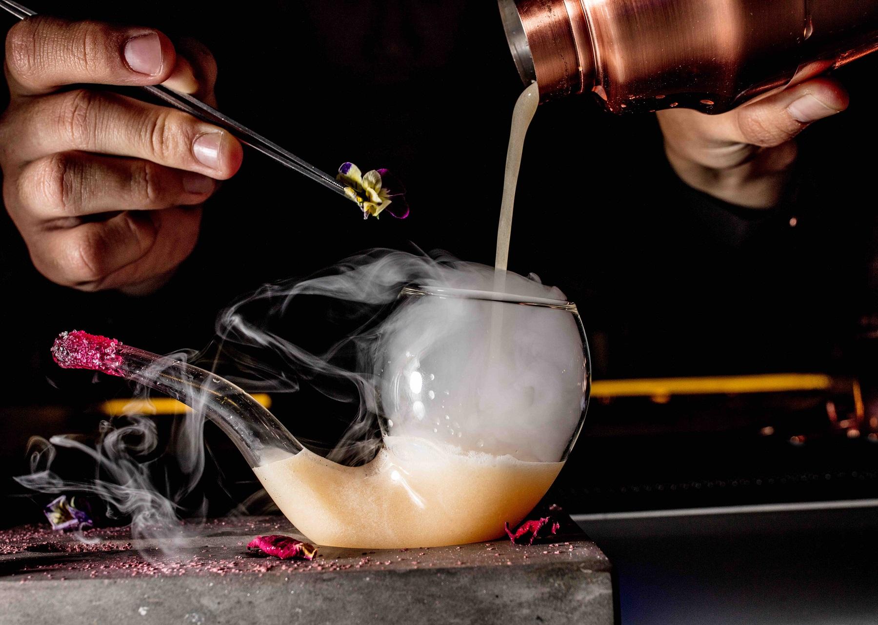 special cocktails at intercontinental hanoi landmark72 hanoi city hotel