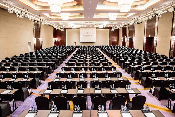 phòng khánh tiệc tại intercontinental hanoi landmark72 khách sạn 5 sao sang trọng cao nhất Hà Nội