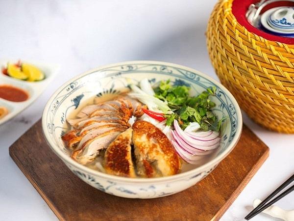 Món phở của nhà hàng trong khách sạn tại Hà Nội