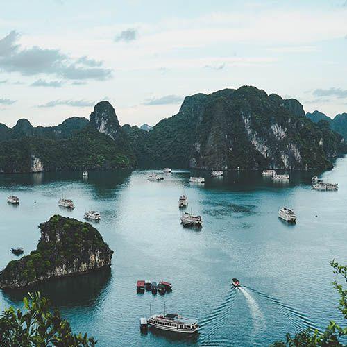 Ha Long Bay from Hanoi hotel