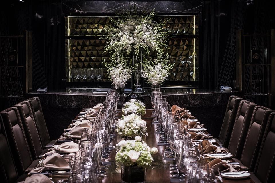 luxury private event room in hanoi hotel