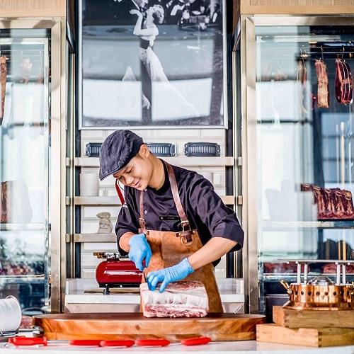 nhà hàng steak thượng hạng tại khách sạn 5 sao intercontinental hanoi landmark72 sang trọng tại hà nội