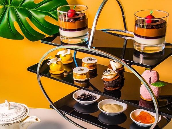 Món tráng miệng trà chiều trong khách sạn tại Hà Nội