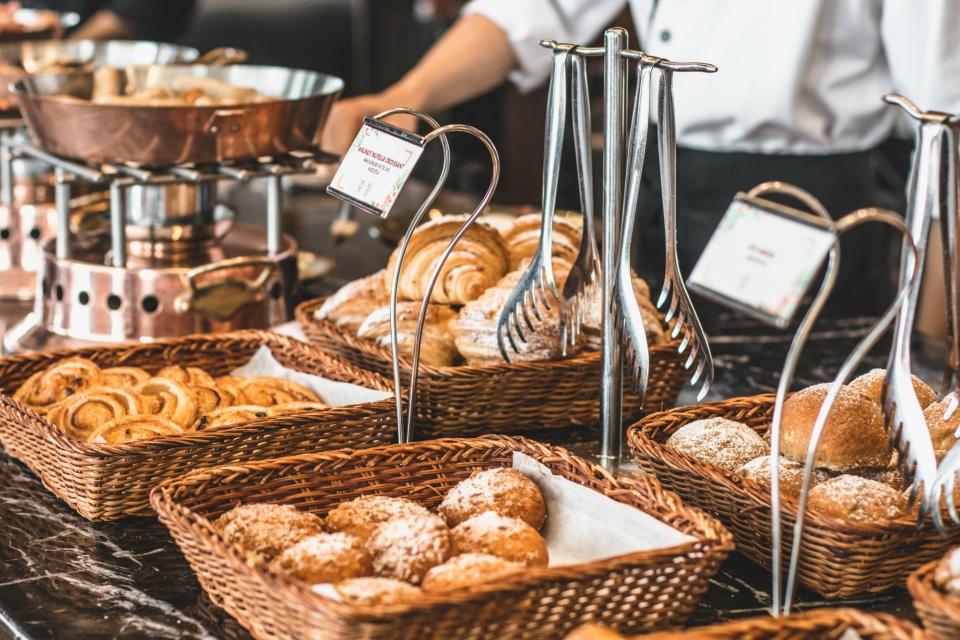 freshly baked french pastry international hotel buffet hanoi