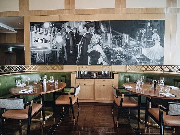 Thiết kế nội thất của nhà hàng Stellar Steakhouse tại Hà Nội