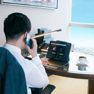 intercontinental hanoi work from hotel virtual meeting
