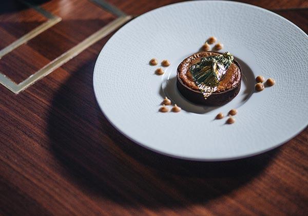 desserts at luxury dining at Stellar Steakhouse in 5-star hotel Hanoi