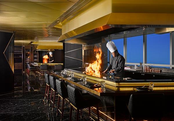 nhà hàng stellar steakhouse tại intercontinental hanoi landmark72 khách sạn 5 sao sang trọng cao nhất hà nội
