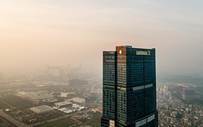 intercontinental hanoi landmark72 khách sạn 5 sao sang trọng và cao nhất hà nội