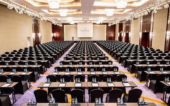 ballroom phòng khánh tiệc rộng nhất intercontinental hanoi landmark72 khách sạn 5 sao sang trọng tại hà nội