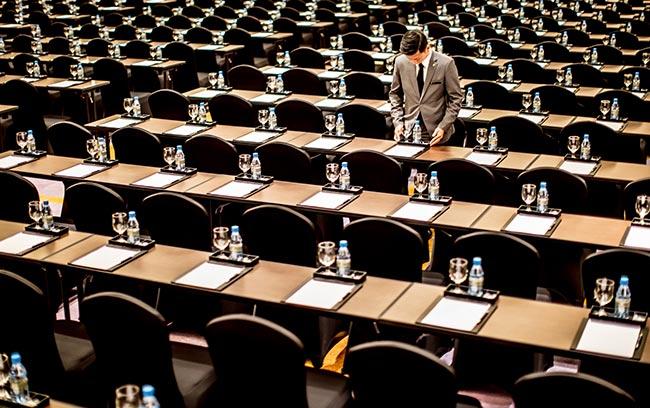 nhân viên tổ chức sự kiện tại ballroom intercontinental hanoi landmark72 khách sạn 5 sao sang trọng tại hà nội