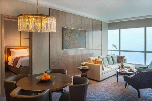 phòng ambassador suite sang trọng tại intercontinental hanoi landmark72 khách sạn 5 sao cao nhất hà nội
