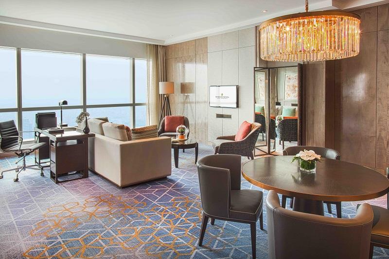 phòng premier suite tại intercontinental hanoi landmark72 khách sạn 5 sao cao nhất hà nội